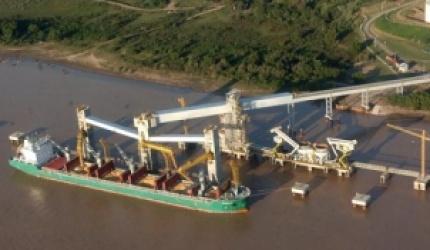 La cita del transporte fluvial